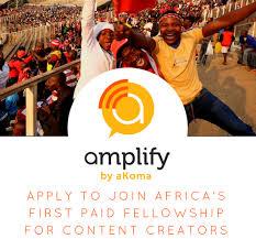 Akoma Amplify Paid Fellowship