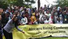 Participants at the Africa Civil Society Initiative Validation Conference 2016