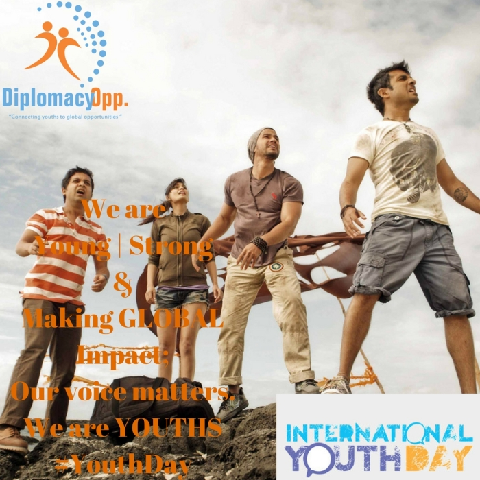 International Youth Day from Diplomacy Opportunities