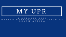 Universal Periodic Review of the United Nations Association of South Africa