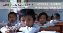 World Bank Youth Summit, Rethinking Education