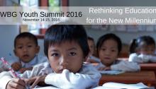 World Bank Youth Summit, Rethinking Education