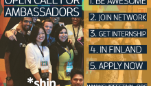 ship The Startup Festival Open Call for Ambassadors