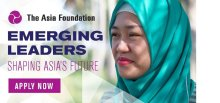 2017 Asia Foundation Development Fellowship Program