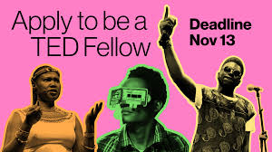 Apply TED Fellow Ted Global Conference