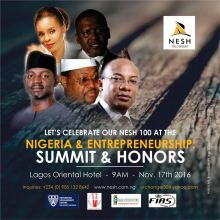Nigeria Entrepreneurship Summit and Honours