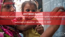 World Innovation Summit for Education WISE Awards 2017