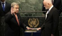 Antonio Guterres New UN Secretary General