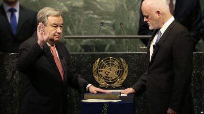 Antonio Guterres New UN Secretary General