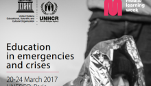 UNESCO Mobile Learning Week 2017 Education in Emergencies