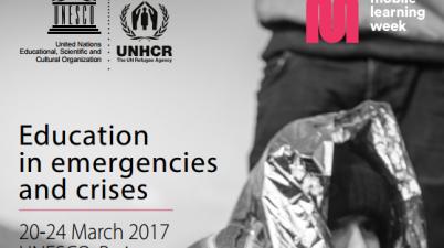 UNESCO Mobile Learning Week 2017 Education in Emergencies