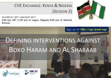 CVE Exchange: Kenya and Nigeria with Common Ground Centre