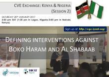 CVE Exchange: Kenya and Nigeria with Common Ground Centre