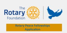 Rotary Peace Fellowship Application