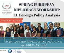 European Diplomacy Workshop 2017