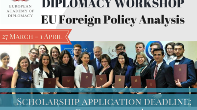 European Diplomacy Workshop 2017