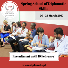 Spring School of Diplomatic Skills (SDS)