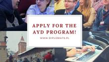 Apply to study in Warsaw Poland at AYD