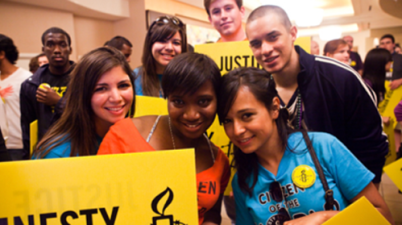 Amnesty International Youth Leadership Opportunities