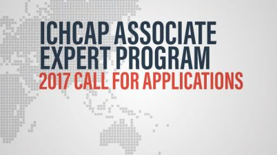 ICHCAP Associate Expert Program application