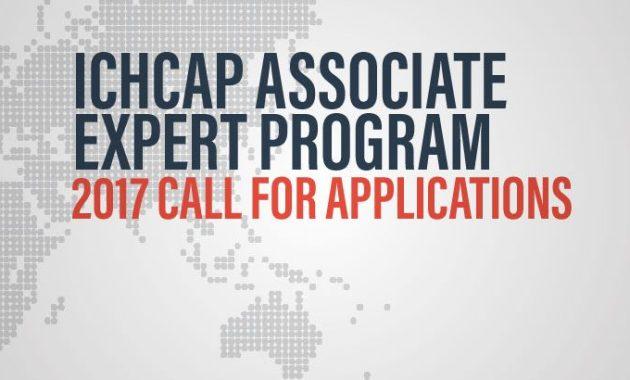 ICHCAP Associate Expert Program application