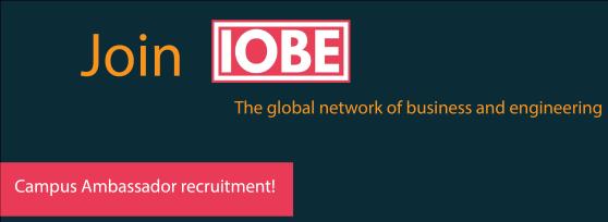 IOBE Campus Ambassador Application