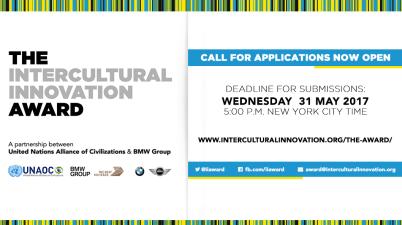 UNAOC BMW Intercultural Innovation Award