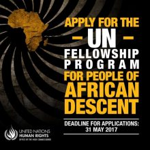 OHCHR UN Fellowship Programme for People of African Descent