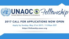 United Nations Alliance of Civilizations (UNAOC) Call for Applications 2017 Fellowship Program
