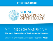 United Nations Environment Programme Young Champions of the Earth Climate Change