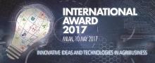 UNIDO International Award 2017, Milan Italy