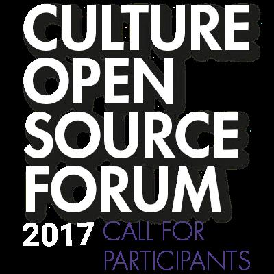 Culture Open Source Forum Germany (Funding Available