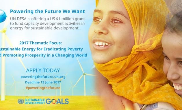 UN DESA Energy For Sustainable Development Grant