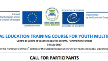 6th Global Education Training Course for Youth Multipliers
