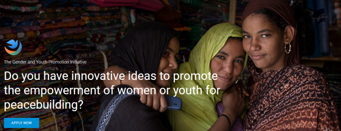 United Nations Peacebuilding Fund Gender and Youth Promotion Initiative