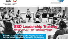UNESCO ESD Leadership Training