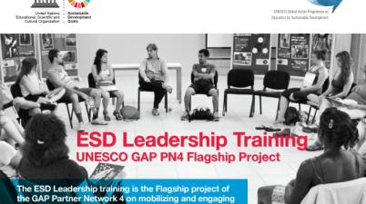 UNESCO ESD Leadership Training