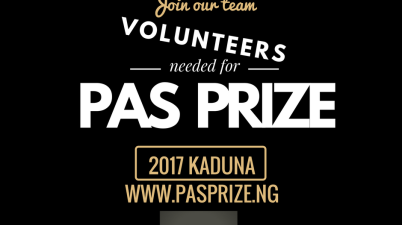 PaS Prize Calls for Volunteers
