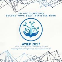 ASEAN Youth Initiative Empowerment Program AYIEP 2017