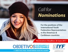 Call For Applications IYF Representatives in Americas & Caribbean