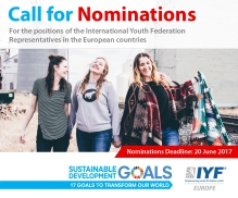 IYF call for applications in EU