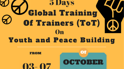 ToT on Youth Peacebuilding 2017