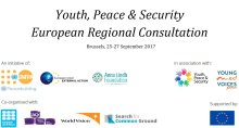 European Regional Consultation on Youth, Peace & Security