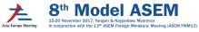 8th Model Asia Europe Meeting (ASEM) in Myanmar