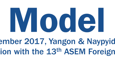 8th Model Asia Europe Meeting (ASEM) in Myanmar