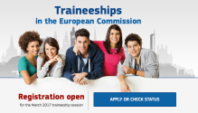 European Commission Traineeship