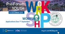 Pre-Forum Youth Workshop 2nd Global NCD Alliance Forum