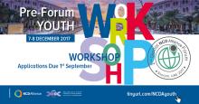 Pre-Forum Youth Workshop 2nd Global NCD Alliance Forum