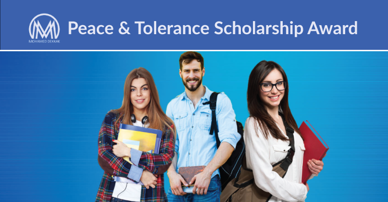 Peace and Tolerance Scholarship Award $10,000 | Diplomacy Opportunities