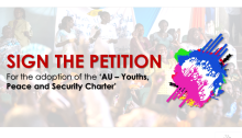 African Union – Youths, Peace and Security Charter Petition